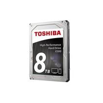 "Toshiba 8.9cm (3.5"")  8TB SATA3 X300 High-Perf.     7200 128 bulk"