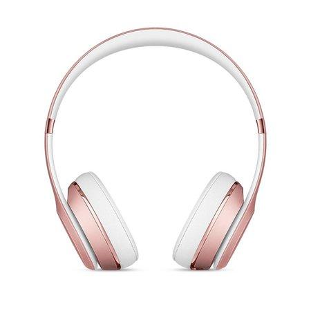 Apple Beats by Dr. Dre Beats Solo3 Wireless Hoofdband Stereofonisch Bedraad Goud mobielehoofdtelefoon