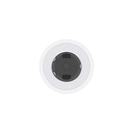 Apple Apple MMX62ZM/A Lightning 3.5mm Wit kabeladapter/verloopstukje