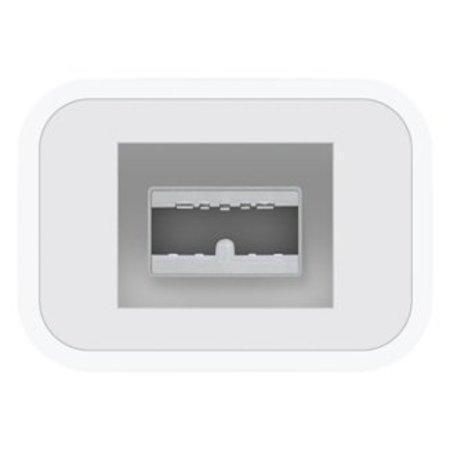 Apple Apple Thunderbolt - FireWire Adapter Thunderbolt FireWire 800 Wit kabeladapter/verloopstukje