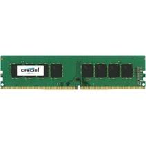 DDR4  8GB PC 2400 CL17  Crucial Dual Rank retail