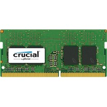 SO DDR4  8GB PC 2400 CL17  Crucial Single Rank 1,2V
