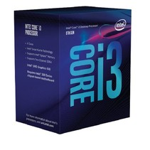 Intel Core i3 8100 PC1151 6MB Cache 3.6GHz retail
