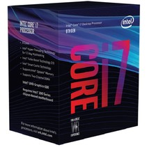 Intel Core i7 8700 PC1151 12MB Cache 3,2GHz retail