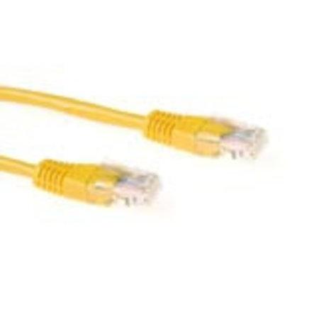 ACT Intronics CAT6 UTP patchkabel geel