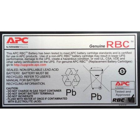 APC APC Batterij Vervangings Cartridge APCRBC140