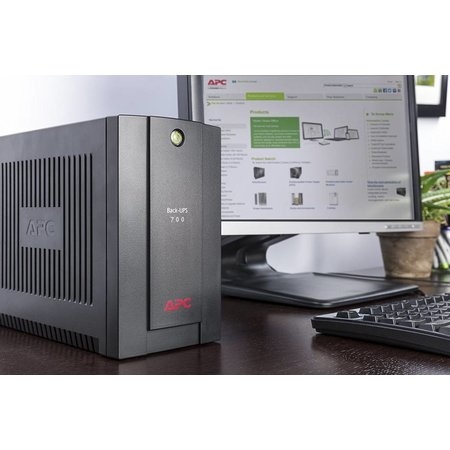 APC APC Back-UPS 700VA noodstroomvoeding 4x stopcontact, USB