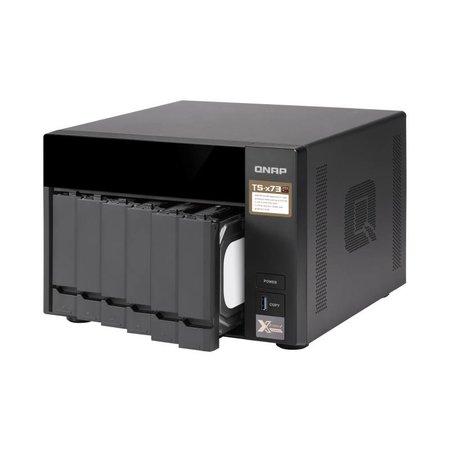 QNAP QNAP TS-673 NAS Toren Ethernet LAN Zwart