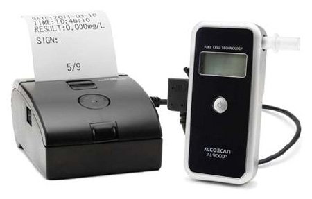 Alcoscan AL 9000 met Printer