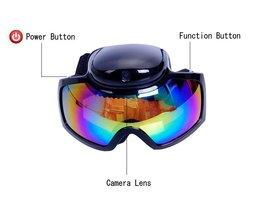 J&S Supply Skibril met HD Camera
