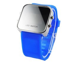 LED Horologe Felblauwe Band