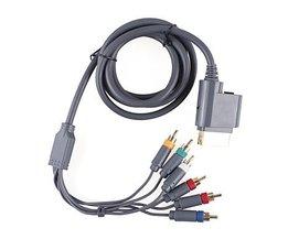 Premium Component Video en Audio AV-Kabel Xbox 360
