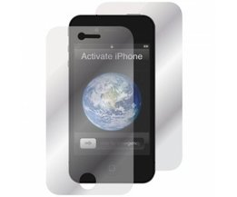 2 x Screenprotector Front + Back voor iPhone 4/4S