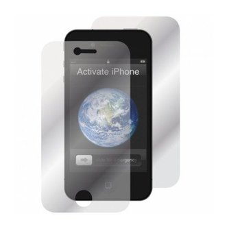 2 x Screenprotector Front + Back voor iPhone 4/4S