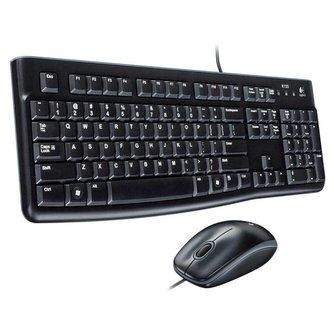 Logitech MK120 USB Toetsenbord met Muis