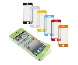 Screenprotector Apple iPhone 5 5s Kleur