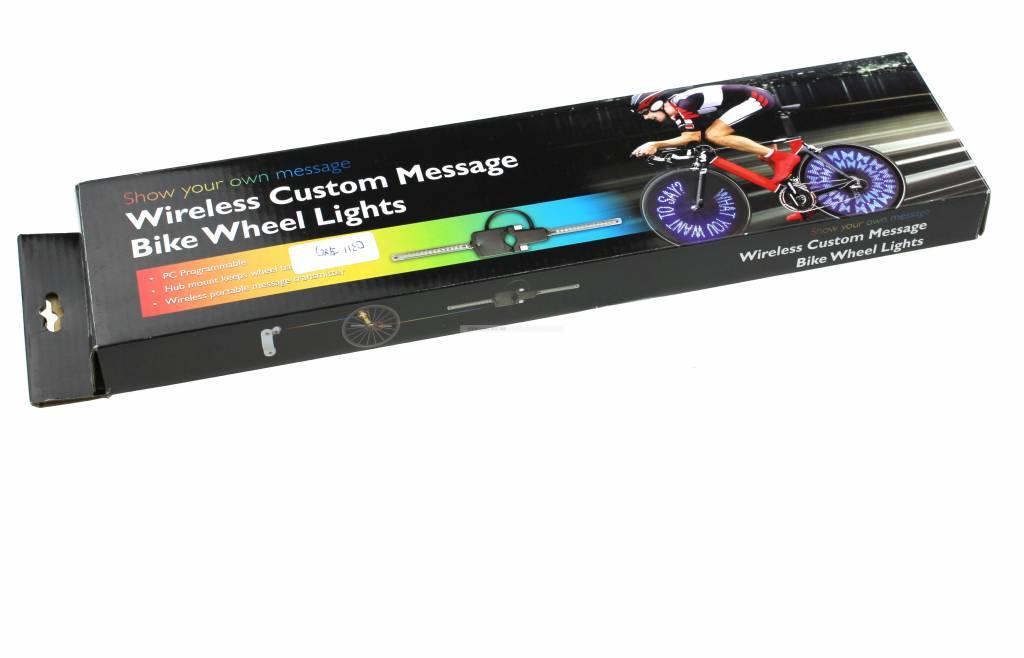 LED wiel verlichting met tekst I Tech66 -