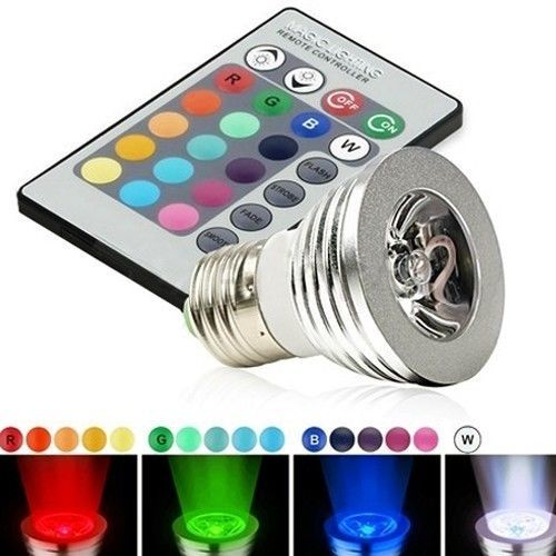Gekleurde led spots met afstandsbediening kopen? Tech66 -