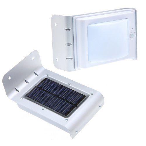 tuinlamp op zonne energie met bewegingssensor