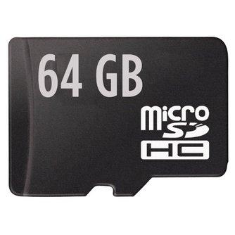 Micro SD Kaart HC 64GB