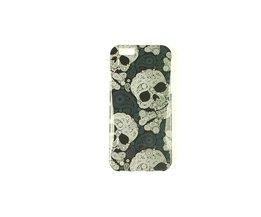 Bloemen Doodskop iPhone 6 Cover