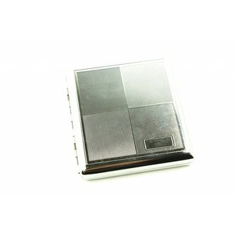 Zilveren Sigaretten Box