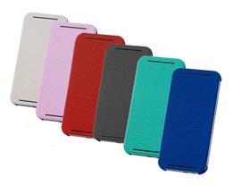HTC ONE M8 Flip Case Leder