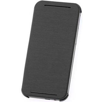 HTC ONE M8 Mini Flip Case Leder