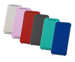 HTC ONE M7 Flip Case Leder