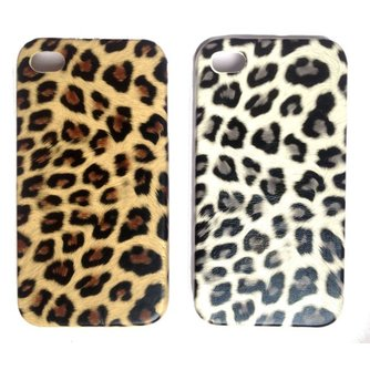 Luipaard Hard Case voor de iPhone 4 / 4S