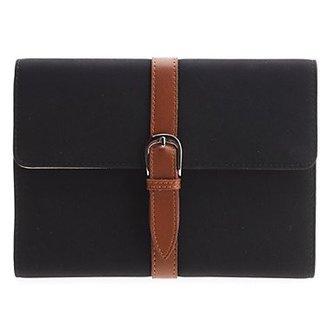 Luxe PU Lederen Case met Riem voor de iPad Mini