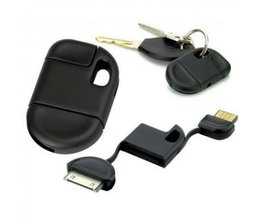 Sleutelhanger USB Data Laadkabel