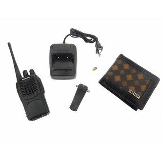 Spy Portemonnee Audio Receiver