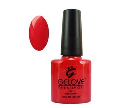 Gelove One Step Gel Nagellak Red Hollywood