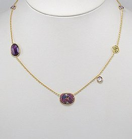 Ketting 'Lovely shades of Violet'