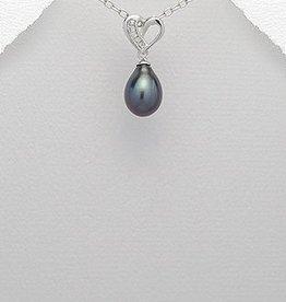 Hanger 'Lovely Black Pearl'