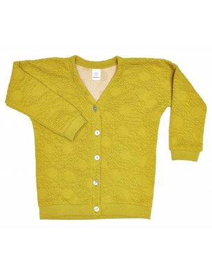 Macarons Vest Clara, Citroen, Biologisch katoen, GOTS