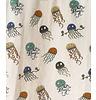 Indikidual Legging Bobbin Jelly Fish, 95% organic cotton 5% elastane, Jelly fish allover dessin, jersey rib waistband