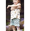 Indikidual Shorts Zack Zig Zag, 100% organic cotton, unbrushed inside side so with loops