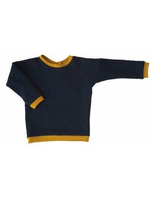 Macarons Sweater Pauli, organic merino wool / cotton