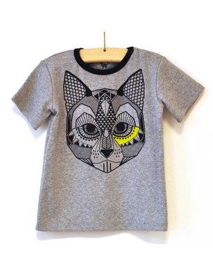 Hebe T-Shirt Jecabs, grijs melange