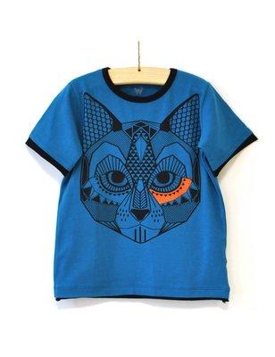 Hebe T-Shirt Zigmars, blue, 100% organic cotton