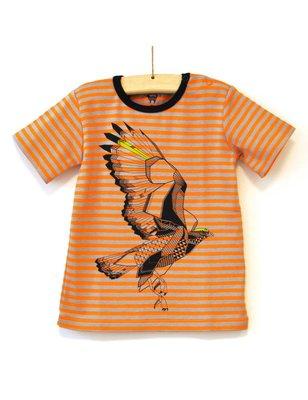Hebe T-Shirt Gustav, stripes, 100% cotton