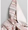 Garbo&friends Deken Snuggle soft pink, 100% biologisch katoen, GOTS certified