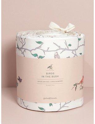 Garbo&friends Bed Bumper Birds, 100% biologisch katoen