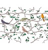 Garbo&friends Bed Bumper Birds, 100% organic cotton