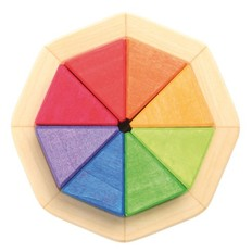 Grimms Puzzle Rainbow colors