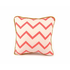 Nobodinoz Pillow Joe Pink ZigZag