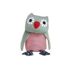 Franck & Fischer Asta Green Owl Plush