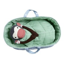Franck & Fischer Carrycot for stuffed monkey, organic cotton
